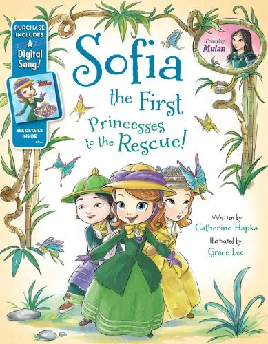 Grace Lee Sofia The First Princesses To The Rescue! [with Digital Song Down