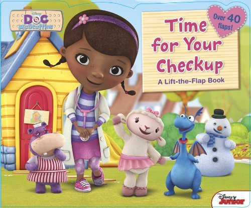 Disney Book Group Doc Mcstuffins Time For Your Checkup!