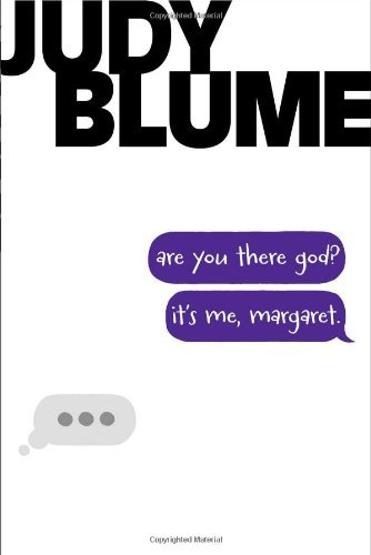 Judy Blume Are You There God? It's Me Margaret. Reprint