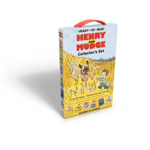 Cynthia Rylant Henry And Mudge Collector's Set Henry And Mudge The First Book Henry And Mudge I