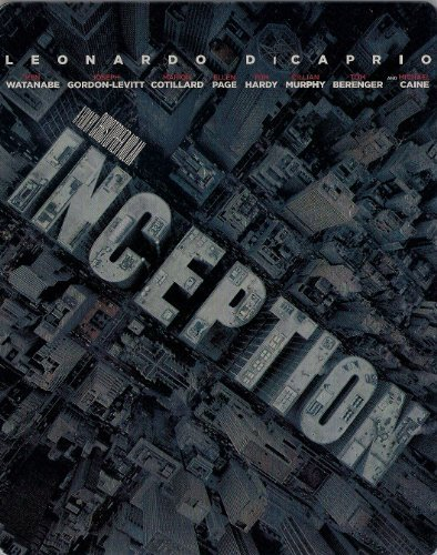 Leonardo Dicaprio Ken Watanabe Christopher Nolan Inception Blu Ray Steelbook [spanish Import] (thre Blu Ray Steelbook
