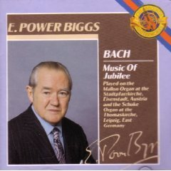 E Power Bach Biggs Music Of Jubilee