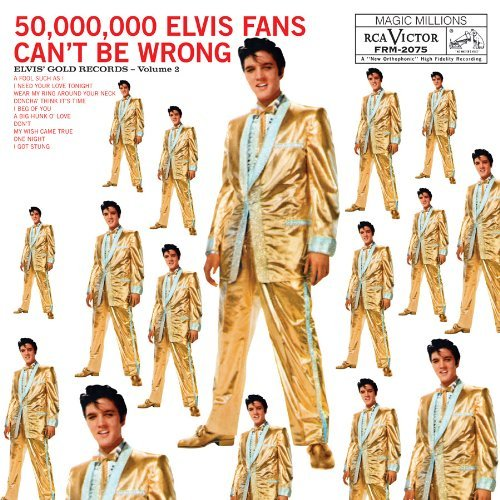 Elvis Presley Elvis Gold Records Volume 2 180gm Vinyl