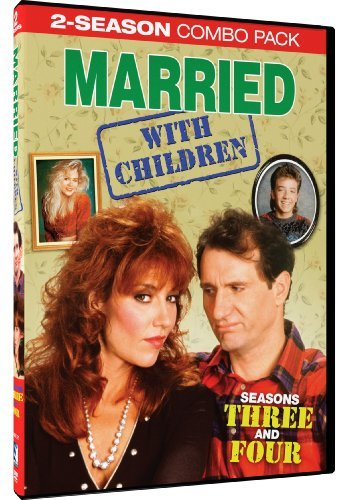 Married With Children Seasons 3 & 4 DVD