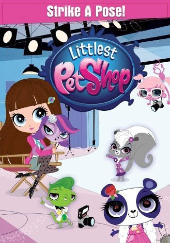 Littlest Pet Shop Strike A Pose DVD Tvy