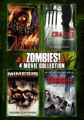 Zombies 4 Pack DVD R Ws