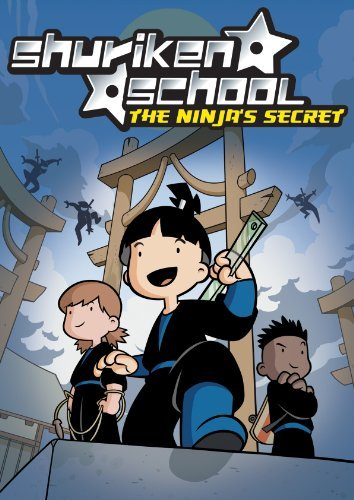 Shuriken School The Ninja's Secret Brooks Kress Dicicco DVD Nr