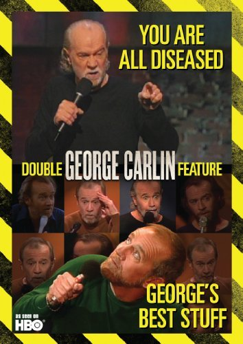 George Carlin George's Best Stuff You Are All Diseased DVD George's Best Stuff You Are All Diseased