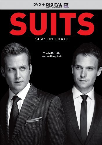 Suits Season 3 DVD Uv Nr