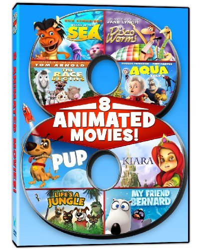 8 Animated Feature Films 8 Animated Feature Films