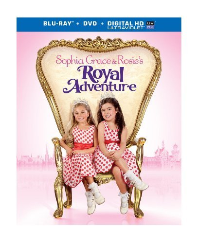 Sophia Grace & Rosie's Royal Adventure Sophia Grace & Rosie's Royal Adventure Blu Ray