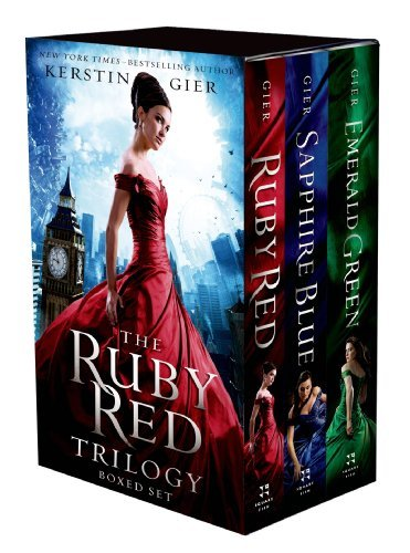 Kerstin Gier The Ruby Red Trilogy Boxed Set Ruby Red Sapphire Blue Emerald Green