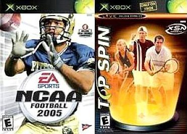 Xbox Top Spin Ncaa Football 2005
