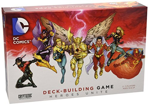 Dc Deck Building Game Heroes Unite Expansion
