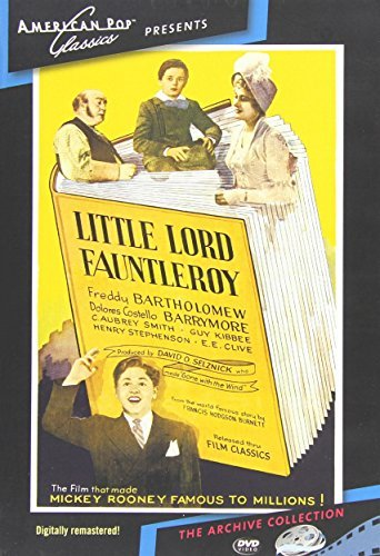 Little Lord Fauntleroy (1936) Bartholomew Rooney DVD Mod This Item Is Made On Demand Could Take 2 3 Weeks For Delivery