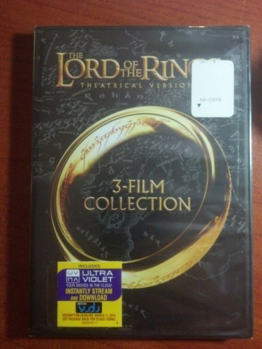 The Lord Of The Rings Theatrical Versions DVD W Theatrical Versions