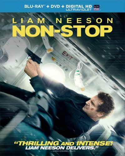 Non Stop Neeson Moore Mcnairy Blu Ray DVD Uv Pg13