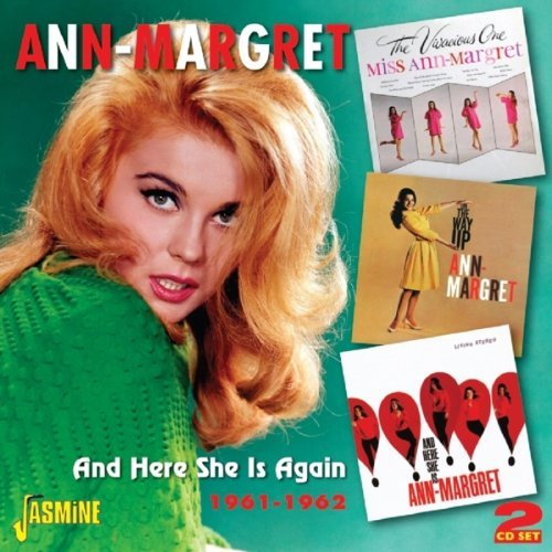 Ann Margret And Here She Is Again 1961 196 Import Gbr 2 CD