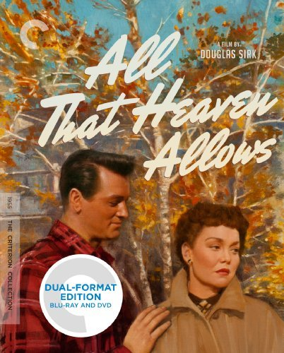 All That Heaven Allows Wyman Hudson Blu Ray DVD Nr Criterion Collection