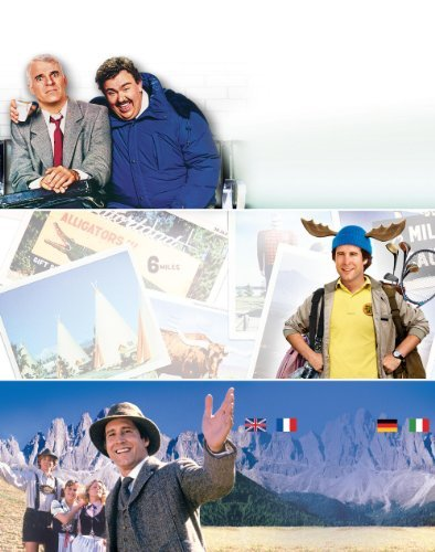 National Lampoon's Vacation National Lampoon's European Vacation Planes Trains & Automobiles Triple Feature Blu Ray