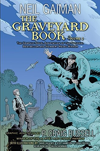 Neil Gaiman The Graveyard Book Volume 2