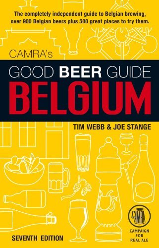 Tim Webb Good Beer Guide To Belgium 0007 Edition;revised