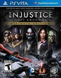 Playstation Vita Injustice Gods Among Us Ultima Whv Games T