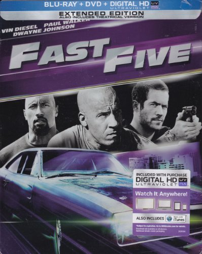 The Fast And The Furious Blu Ray 6 Steelbook Colle Diesel Walker Johnson Blu Ray Steelbook