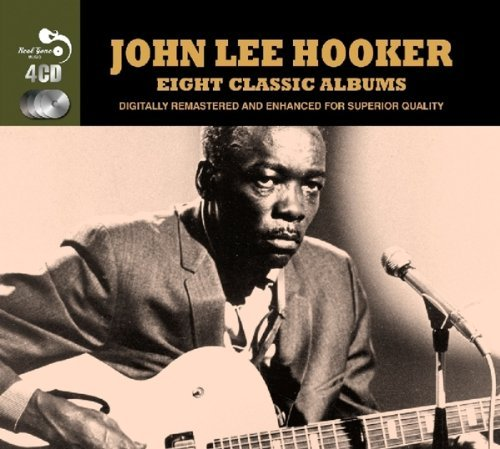 John Lee Hooker 8 Classic Albums Import Gbr 4 CD