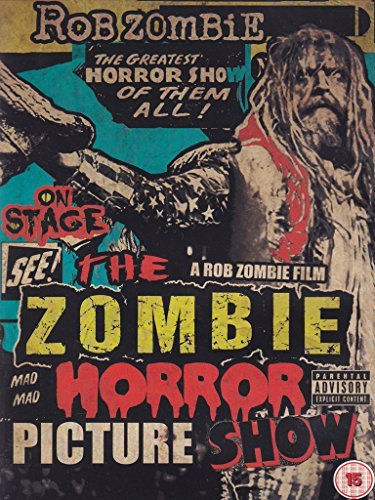 Rob Zombie Zombie Horror Picture Show Explicit Version Zombie Horror Picture Show