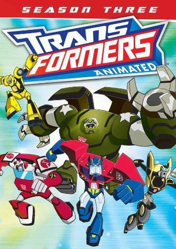 Transformers Animated Season 3 DVD