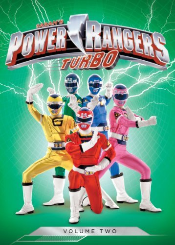 Power Rangers Turbo Volume 2 DVD