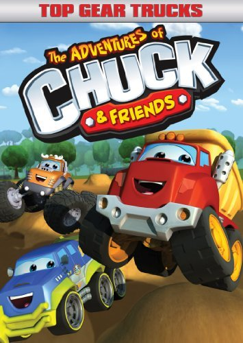 Adventures Of Chuck & Friends Top Gear Trucks DVD