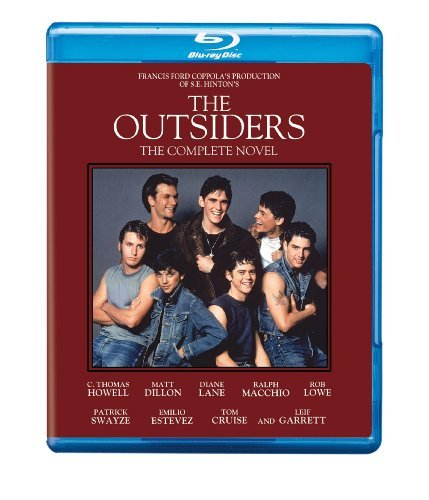 Outsiders Swayze Estevez Howell Dillon Cruise Blu Ray Complete Edition Pg