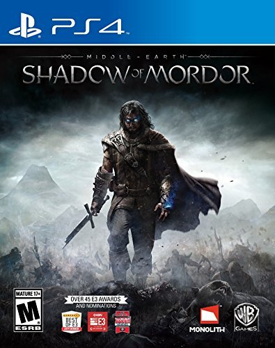 Ps4 Middle Earth Shadow Of Mordor Middle Earth Shadow Of Mordor