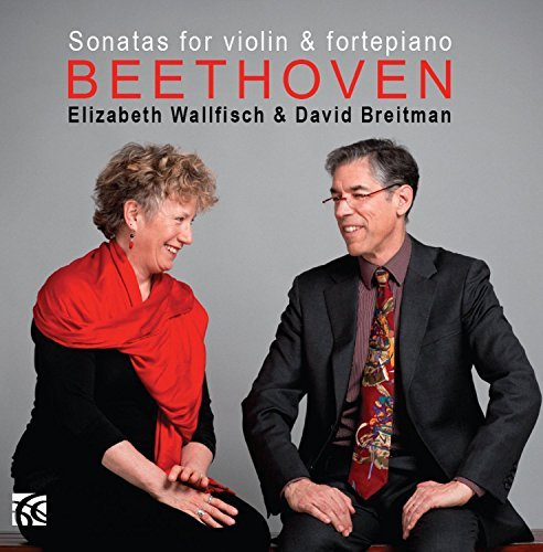 Beethoven Sonatas For Violin & Piano Wallfisch*elizabeth Breitman