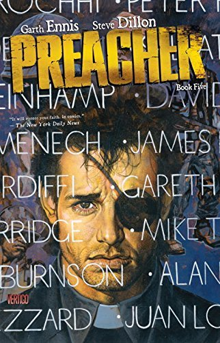 Garth Ennis Preacher Book Five