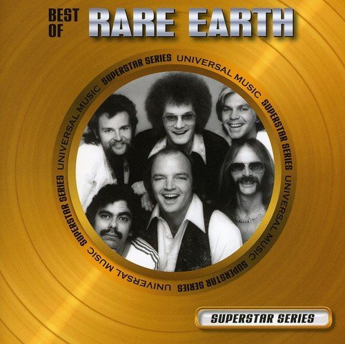 Rare Earth Best Of Superstar Series Import Can