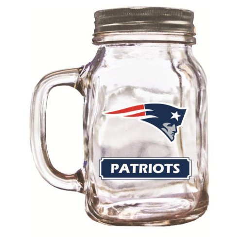 Mason Jar New England Patriots