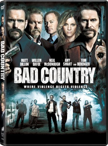 Bad Country Dillon Smart Dafoe Mcdonough Berenger DVD Nr Ws