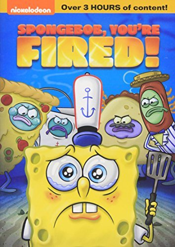 Spongebob Squarepants Spongebob You're Fired! DVD Nr