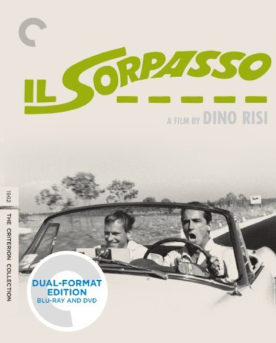 Il Sorpasso Gassman Trintignant Spaak Blu Ray DVD Nr Criterion Collection