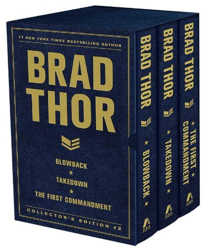 Brad Thor Brad Thor Collectors' Edition #2 Blowback Takedown And The First Commandment Boxed Set
