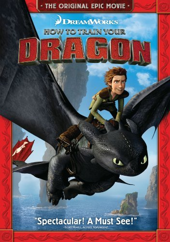 How To Train Your Dragon Butler Hill Baruchel DVD Pg Ws