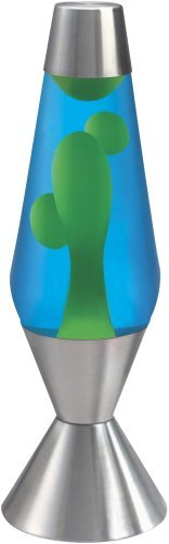 "Schylling Lava Lamp 16.3"" Blue Liq Yellow Wax"