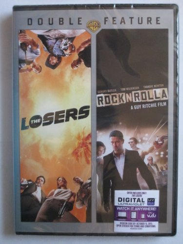 Zoe Saldana Gerard Butler Chris Evans Thandie Newt The Losers Rock N Rolla Double Feature DVD