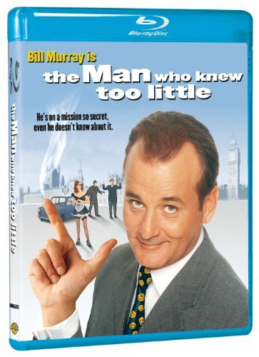 Man Who Knew Too Little Murray Gallagher Blu Ray Pg