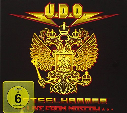 U.D.O. Steelhammer Live From Moscow Incl. 2 CD