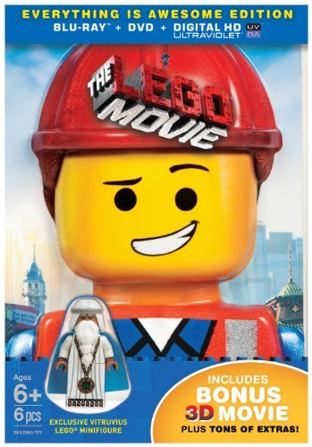 The Lego Movie The Lego Movie 3d Blu Ray Uv Dc Pg13