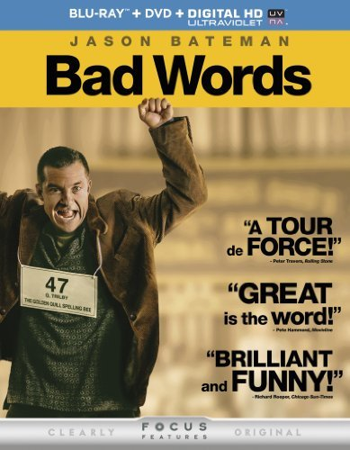 Bad Words Bateman Hahn Janney Blu Ray R